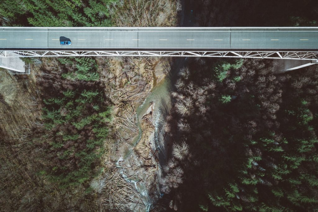 Hoffstadt Creek Bridge, Toutle, Washington -Route 504; credit adrian