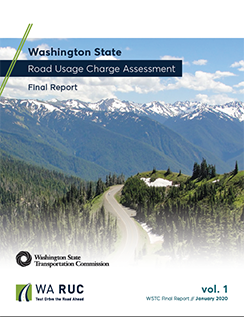 cover of final report volume 1